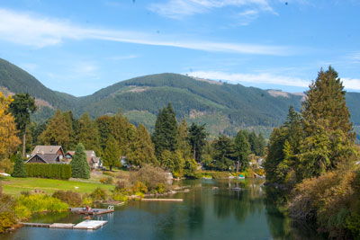 The Cowichan River